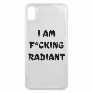 Etui na iPhone Xs Max I am fucking radiant