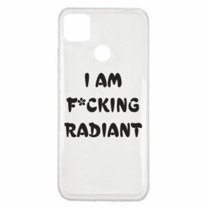Etui na Xiaomi Redmi 9c I am fucking radiant