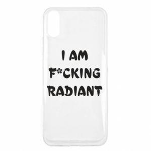 Etui na Xiaomi Redmi 9a I am fucking radiant
