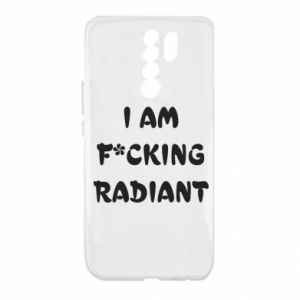 Etui na Xiaomi Redmi 9 I am fucking radiant