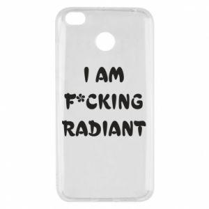 Etui na Xiaomi Redmi 4X I am fucking radiant