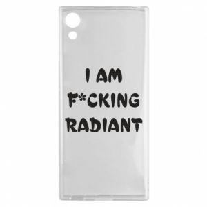 Etui na Sony Xperia XA1 I am fucking radiant