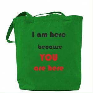 Torba I am here  because YOU are here