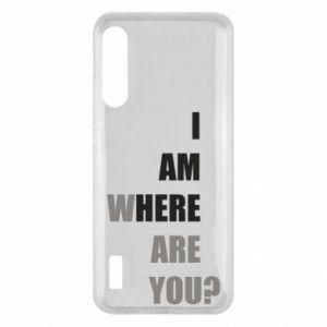 Etui na Xiaomi Mi A3 I am where are you
