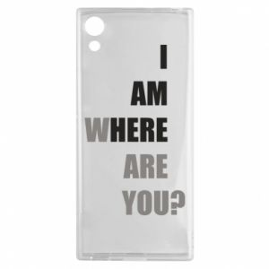 Etui na Sony Xperia XA1 I am where are you