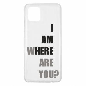Etui na Samsung Note 10 Lite I am where are you