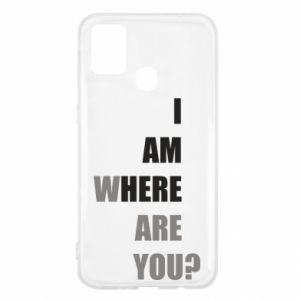 Etui na Samsung M31 I am where are you
