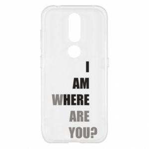 Etui na Nokia 4.2 I am where are you