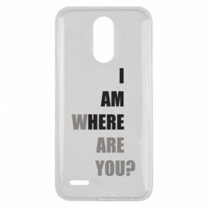 Etui na Lg K10 2017 I am where are you