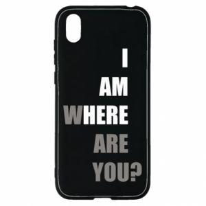 Etui na Huawei Y5 2019 I am where are you
