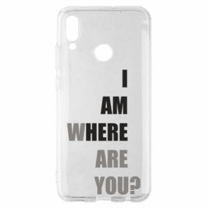 Etui na Huawei P Smart 2019 I am where are you