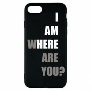 Etui na iPhone SE 2020 I am where are you