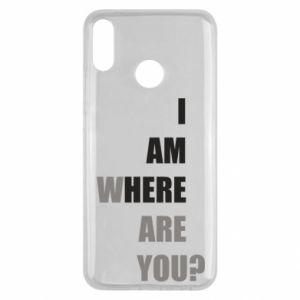 Etui na Huawei Y9 2019 I am where are you
