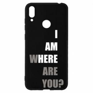 Etui na Huawei Y7 2019 I am where are you