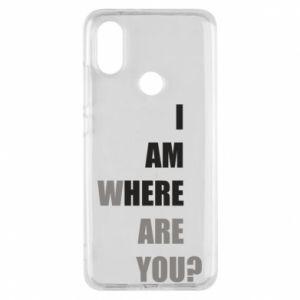 Etui na Xiaomi Mi A2 I am where are you