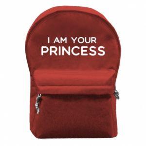 Plecak z przednią kieszenią I am your princess