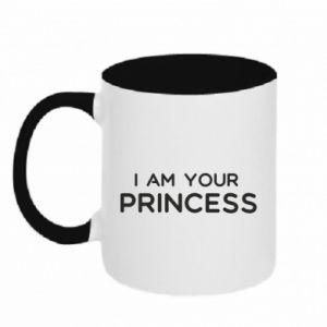 Kubek dwukolorowy I am your princess