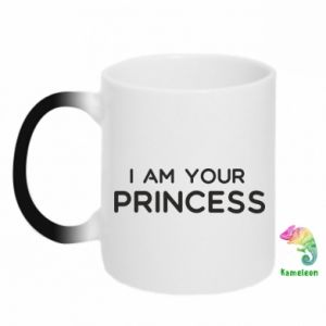Kubek-kameleon I am your princess
