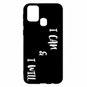 Samsung M31 Case I can & I will