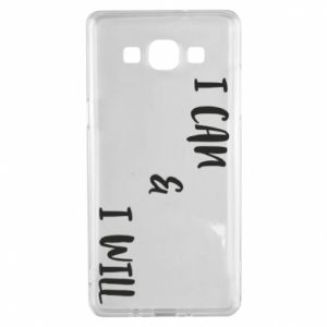 Samsung A5 2015 Case I can & I will