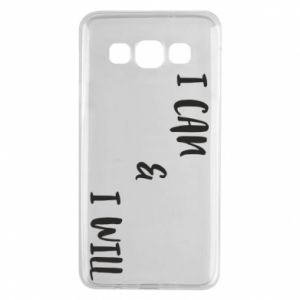 Samsung A3 2015 Case I can & I will