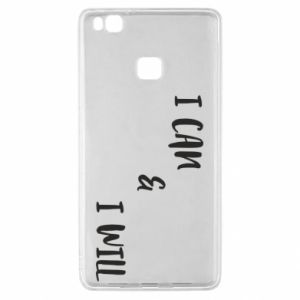Huawei P9 Lite Case I can & I will