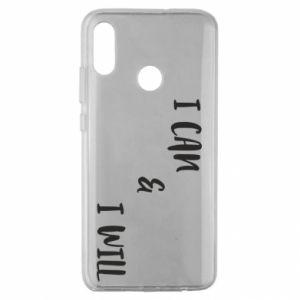 Etui na Huawei Honor 10 Lite I can & I will