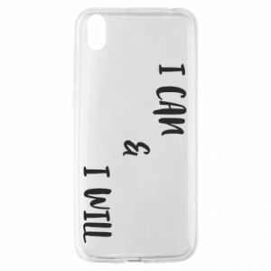 Huawei Y5 2019 Case I can & I will