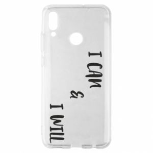 Huawei P Smart 2019 Case I can & I will