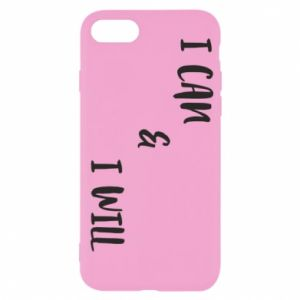 iPhone SE 2020 Case I can & I will