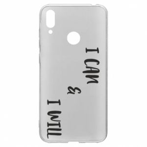 Huawei Y7 2019 Case I can & I will