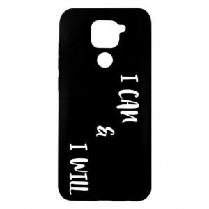 Xiaomi Redmi Note 9 / Redmi 10X case % print% I can & I will