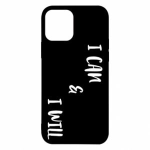 iPhone 12/12 Pro Case I can & I will