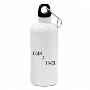 Water bottle I can & I will