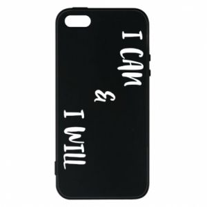 Etui na iPhone 5/5S/SE I can & I will