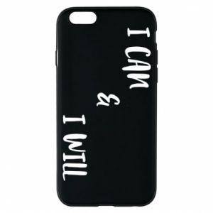 Etui na iPhone 6/6S I can & I will