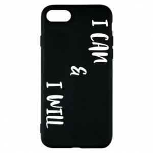 Etui na iPhone 7 I can & I will