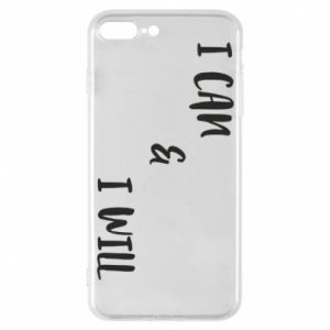 Etui do iPhone 7 Plus I can & I will