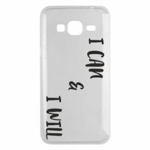 Etui na Samsung J3 2016 I can & I will