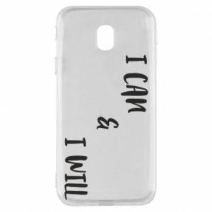 Etui na Samsung J3 2017 I can & I will