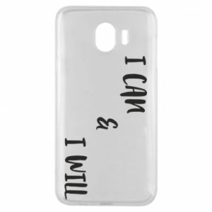 Etui na Samsung J4 I can & I will
