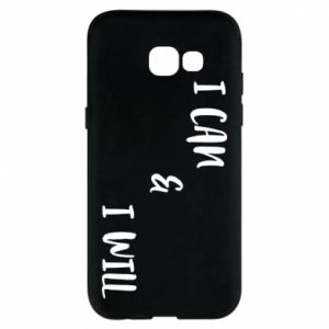 Etui na Samsung A5 2017 I can & I will