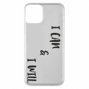 Etui na iPhone 11 I can & I will