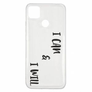 Xiaomi Redmi 9c Case I can & I will