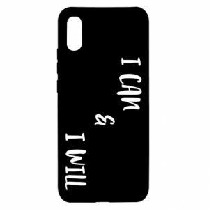 Xiaomi Redmi 9a Case I can & I will