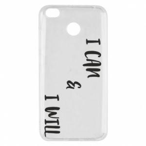 Xiaomi Redmi 4X Case I can & I will