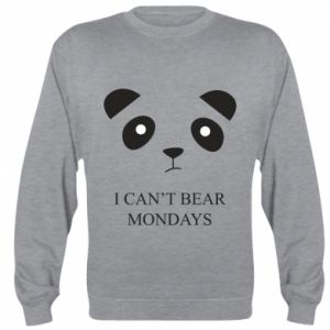 Sweatshirt I can't bear mondays - PrintSalon