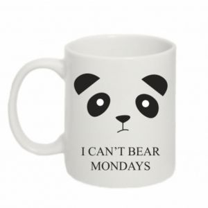 Mug 330ml I can't bear mondays - PrintSalon