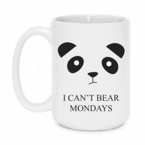 Mug 450ml I can't bear mondays - PrintSalon