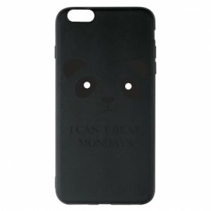 Phone case for iPhone 6 Plus/6S Plus I can't bear mondays - PrintSalon
